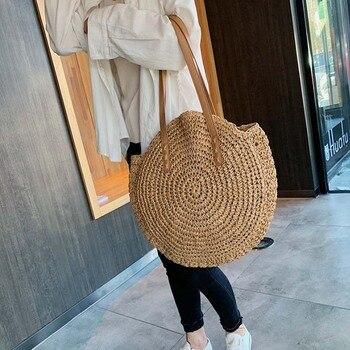 Handmade Rattan Women Shoulder Bags  2