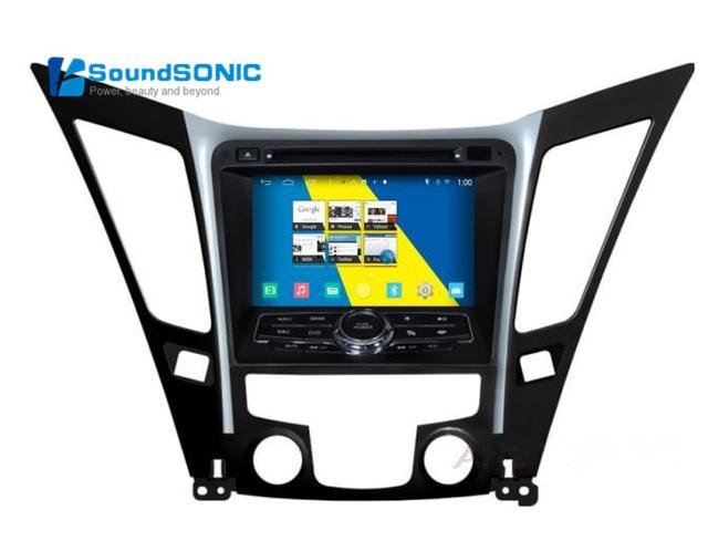 For Hyundai Sonata i40 i45 i50 YF Android 4.4.4 S160 Automotivo InDash Car PC Auto Monitor Car Radio CD DVD GPS Satnav Autoradio