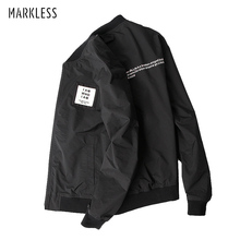 Markless Bomber куртки мужские осень зима толстые теплые хлопковые стеганые куртки тонкие jaqueta masculina chaquetas hombre