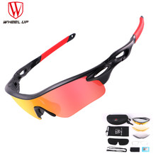 Wheel up 2017 Polarized Cycling Glasses 3 Group Lens Men Mountain Bike Goggles MTB Bicycle Sunglasses Ciclismo Cycling Glasses