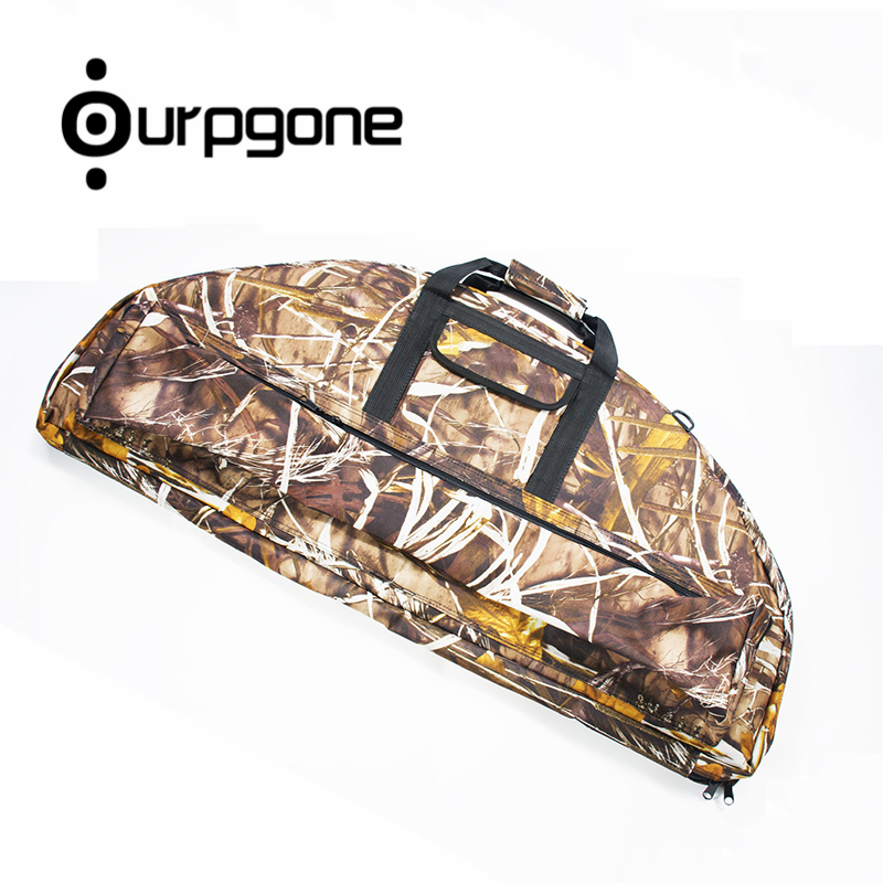 Ourpgone Brand Compound Bow Bag Oxford Cloth Thick Layer of Foam to Protect the Bow and Arrow Bow Hunting Bag Free shipping! ecr etching of ii vi compound semiconductors