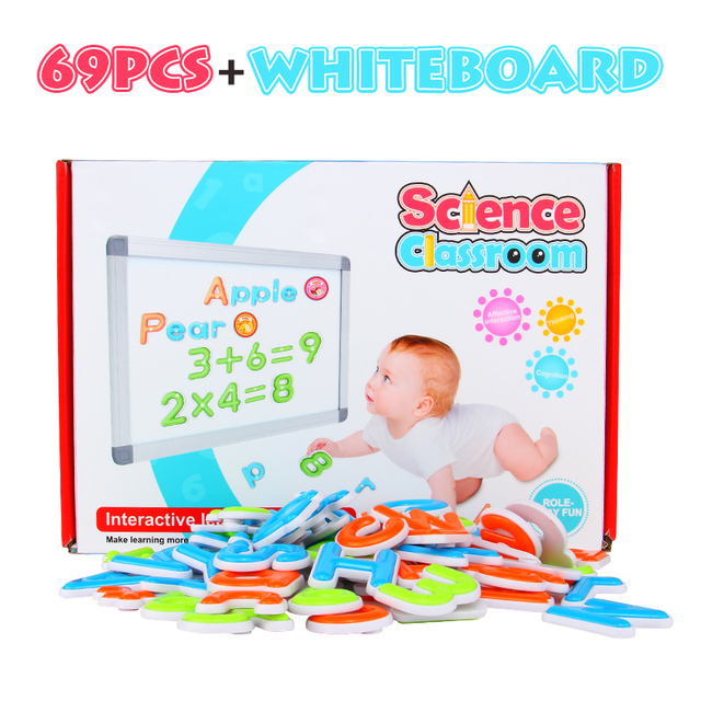 Alphabet Letter Educational Baby Toys Magnetic Puzzle Design Kid ...