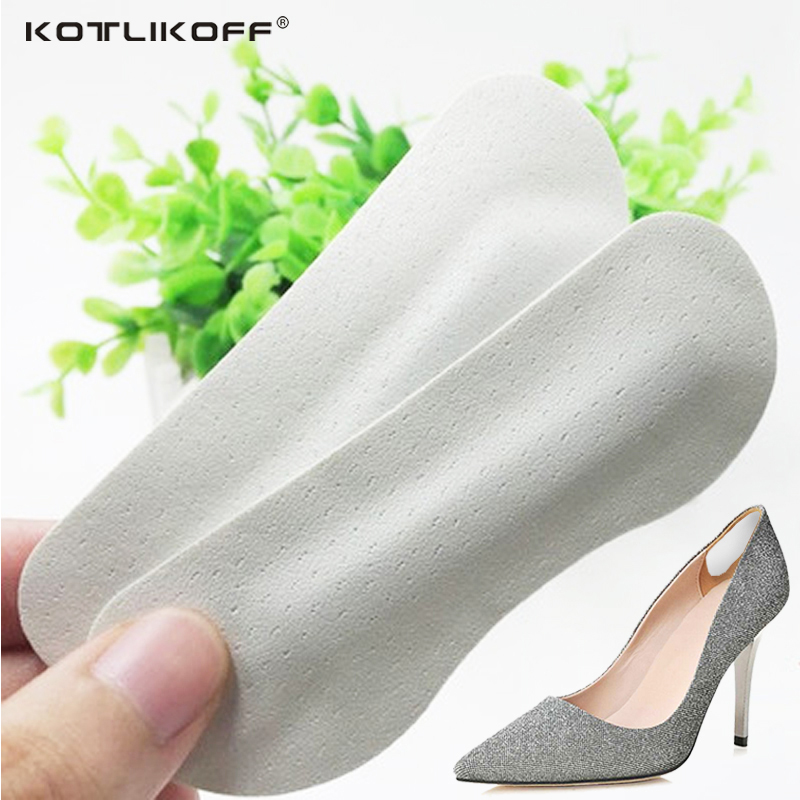 KOTLIKOFF 100pair Feet PU pads insoles inserts hard wearing light weight for woman pumps men high heels sandal shoes accessorie