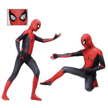 Spider Man Far From Home Peter Parker Cosplay Costume Zentai Adult Kids Spiderman Superhero Bodysuit Suit Jumpsuits spider man far from home peter parker cosplay costume zentai adult kids spiderman superhero bodysuit suit jumpsuits