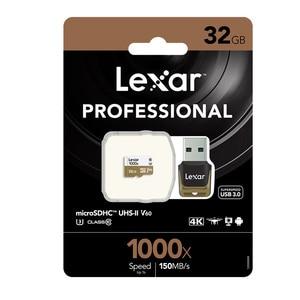 Image 5 - Lexar tarjeta karta micro sd 32GB karta pamięci tf 150 MB/s 1000x USB 3.0 czytnik UHS II dla Drone Gopro Hero kamera sportowa