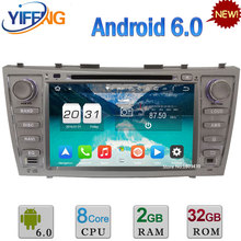 8″ Octa Core WIFI Android 6.0 32GB ROM 2GB RAM 4G DAB+ Car DVD Radio Player For TOYOTA Aurion Camry V40 2007-2011 GPS Navigation