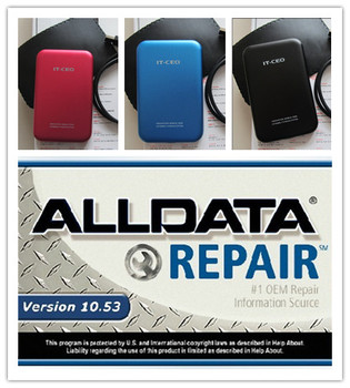 Alldata And Mitchell On Demand Auto Repair Software In 750gb Hard Disk Free Shipping