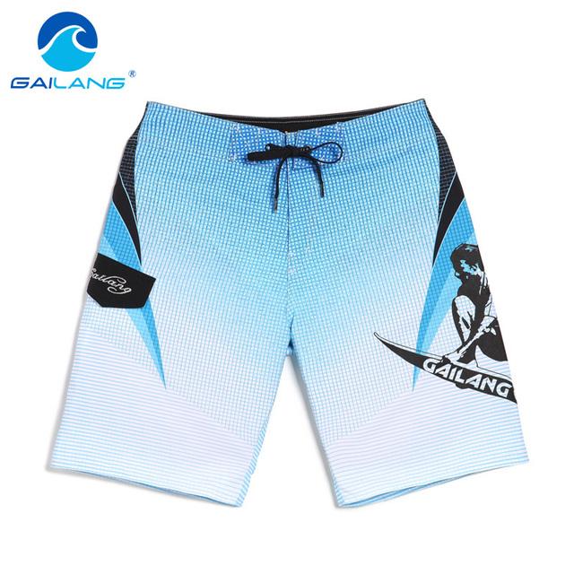 Gailang Marca 2017 Nuevos Hombres pantalones cortos de playa, traje de Baño bañadores hombre bañadores Bañadores corto moda praia bermudas masculina de marca