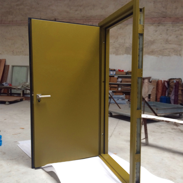 Latest Design Interior Room Residential Fire Rated Solid Wooden Door Soundproof In Doors From