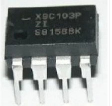 Free shipping 100PCS X9C103P DIP