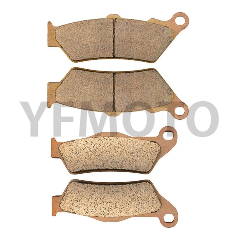 Hot Sale Motorcycle Parts Front & Rear Brake Pads Brake Disks Kit For B M W HP2 Enduro 2005-2008 06 07