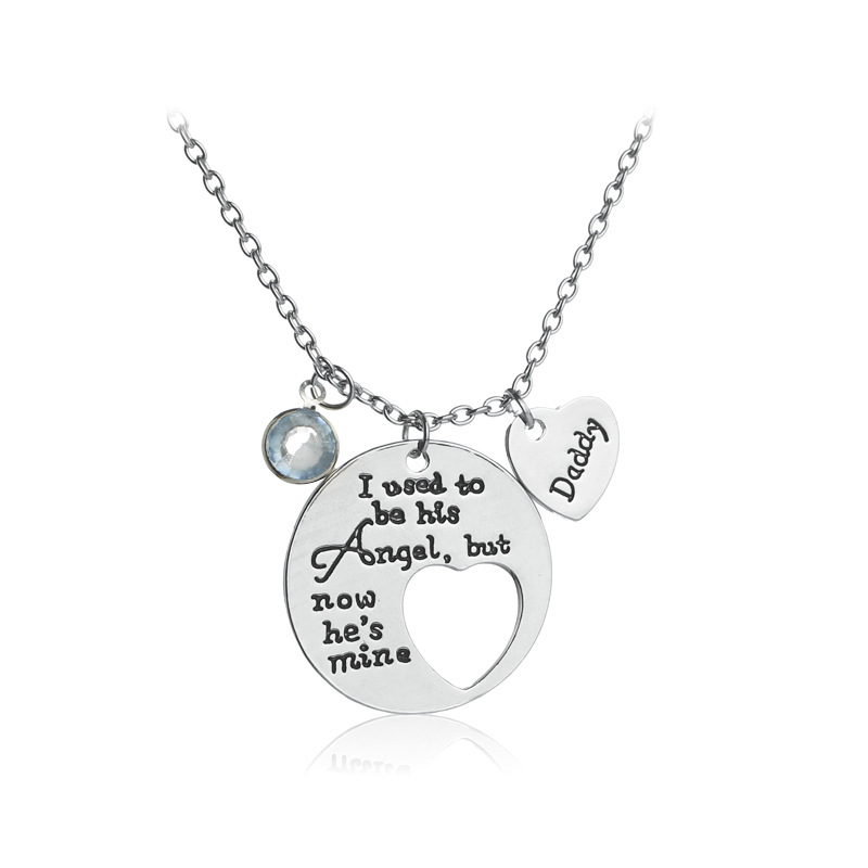 Creative letter necklace daddy mommy pendant alloy necklace best creative letter necklace daddy mommy pendant alloy necklace best friend jewelry gift fathers day mothers day gift in pendant necklaces from jewelry aloadofball Image collections