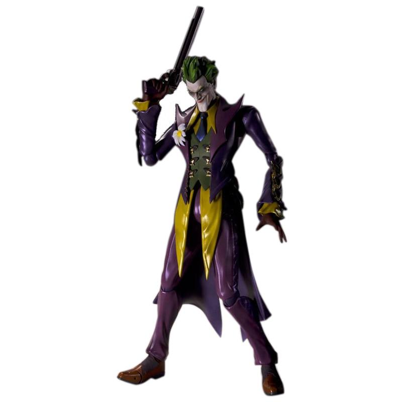 Justic League Batman & Joker Variable Joker SHF Doll PVC Action Figure Collectible  Model Toy 15cm KT2645 justic league batman