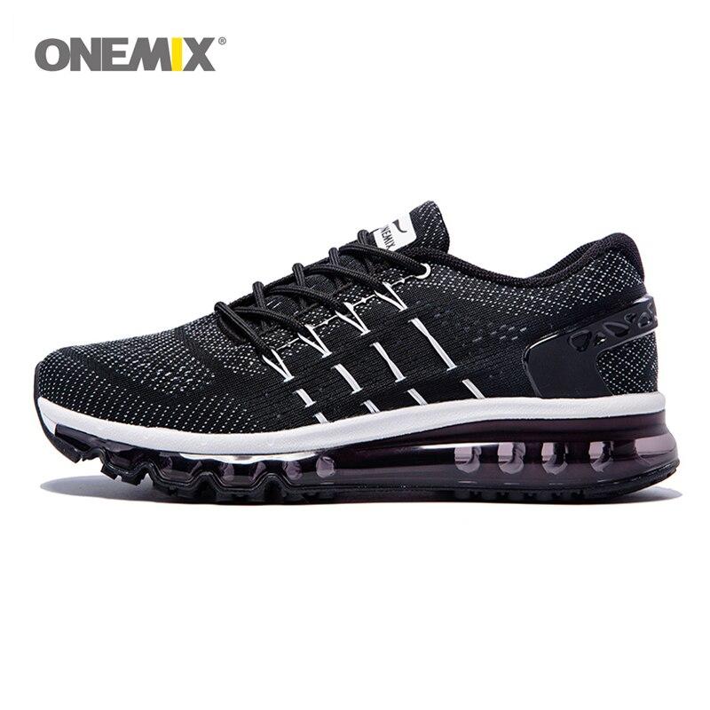ONEMIX 2017 Coussin D'air de Chaussures de Course Hommes et Respirant Chaussures de Sport Sports de Plein Air et de Jogging Taille UE 39-46 1155