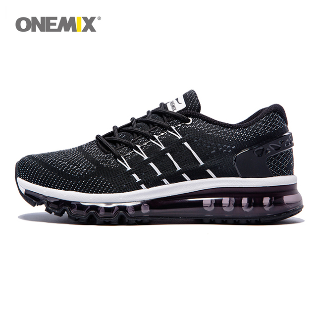 ONEMIX 2017 Running Shoes Men's Air Cushion and Breathable Sports Shoes Outdoor Sports and Jogging Size EU 39-46 1155