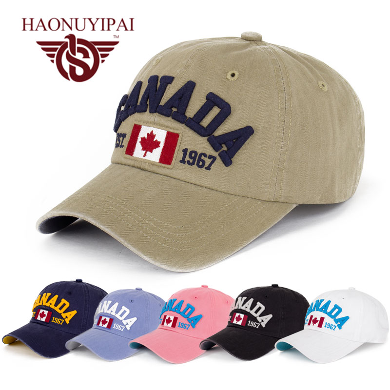 2016 Brand New Baseball Caps Snapback For Men Women Casquette Bonnet Fitted Gorras Hats Letter Canada Cap 4 Colors Hat D1019 2016 new brand summer army hat baseball cap camouflage caps snapback outdoor sports hat for women men casquette bonnet gorras