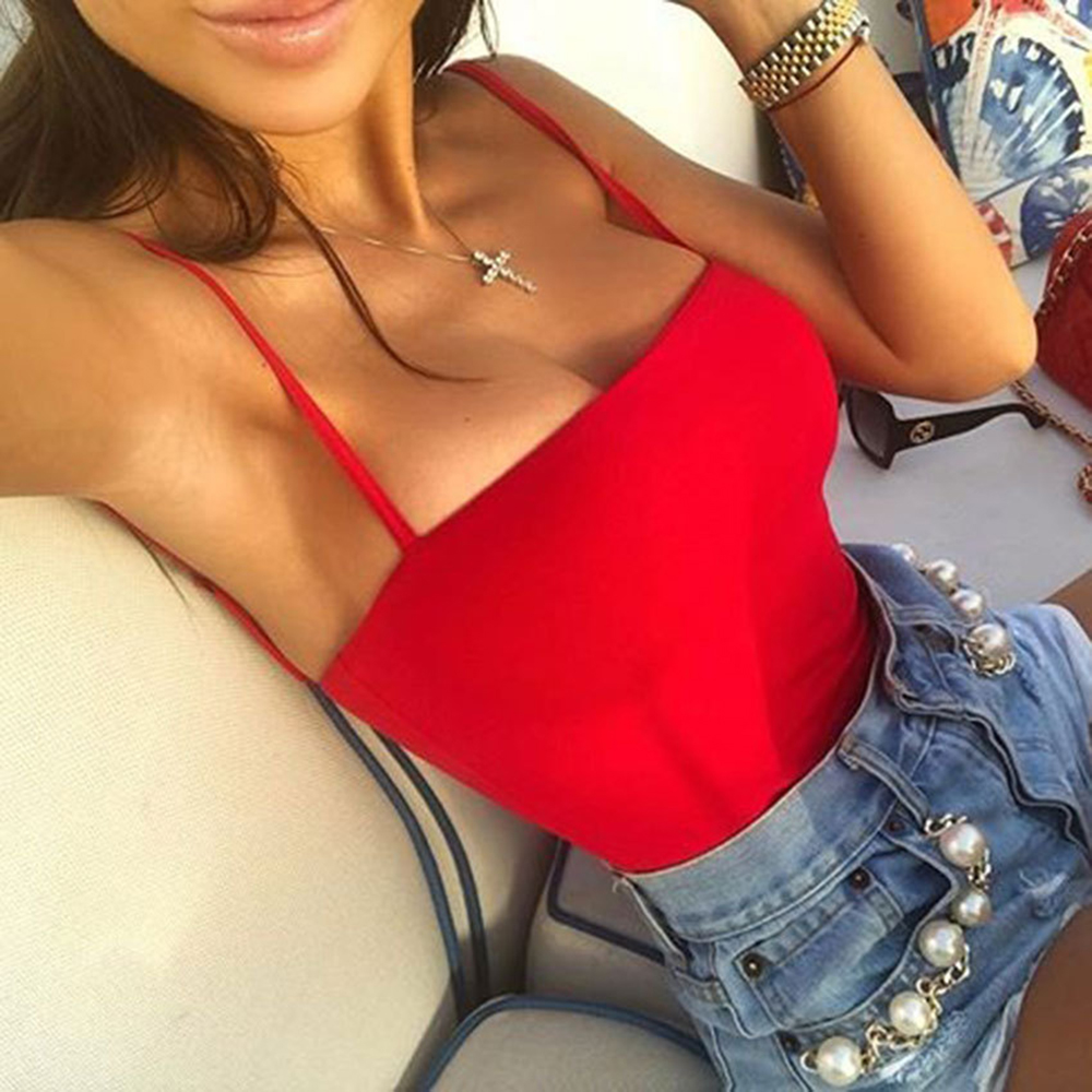 Black Red Pink Color Sexy Romper Body Siamese Bodysuit Undershirt Women Sling Playsuits Sumer