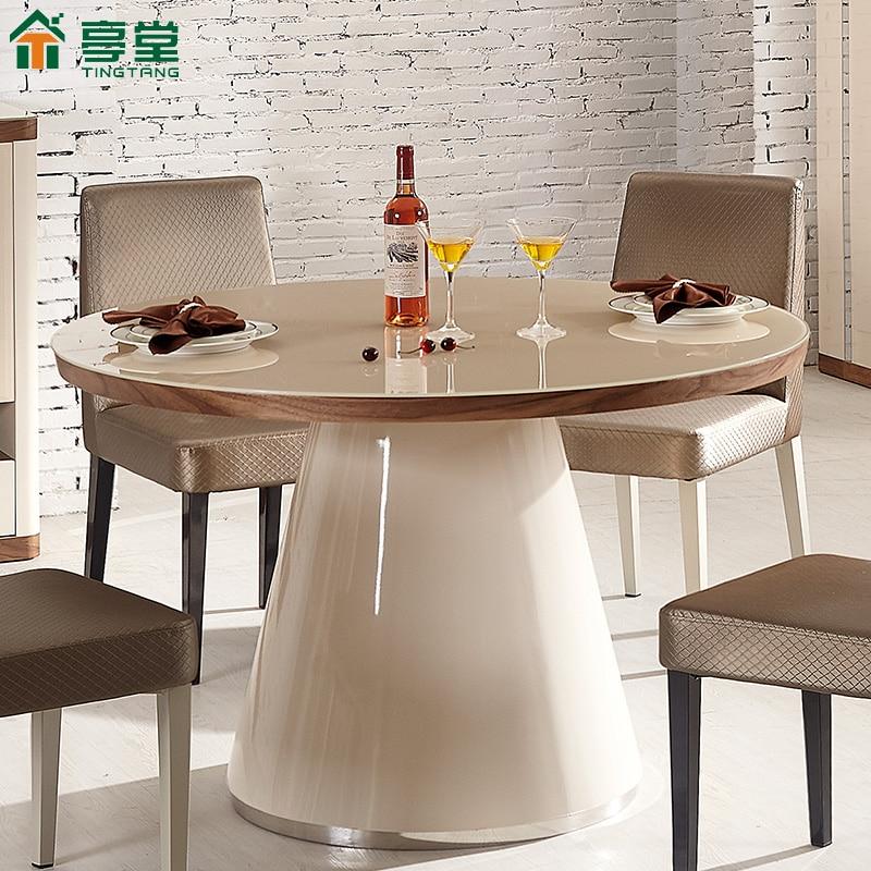 Ventajas de contar con una mesa redonda en el comedor - Mesas redondas cristal comedor ...