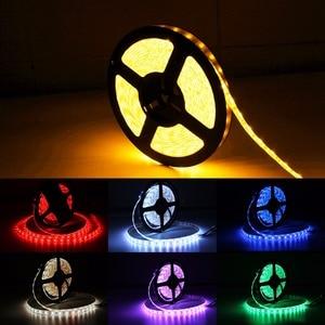 Image 5 - Usb led ストリップ dc 5 12v フレキシブルな光ランプ 60 led smd 2835 50 センチメートル 1 メートル 2 メートル 3 メートル 4 メートル 5 メートルミニ 3Key デスクトップの装飾テープテレビ背景照明