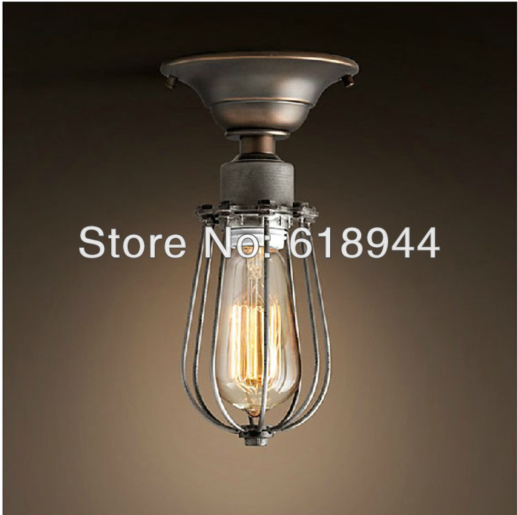 New Design American Style Vintage Ceiling Light Ceiling Mount Light Fixture Indoor Lighting E27