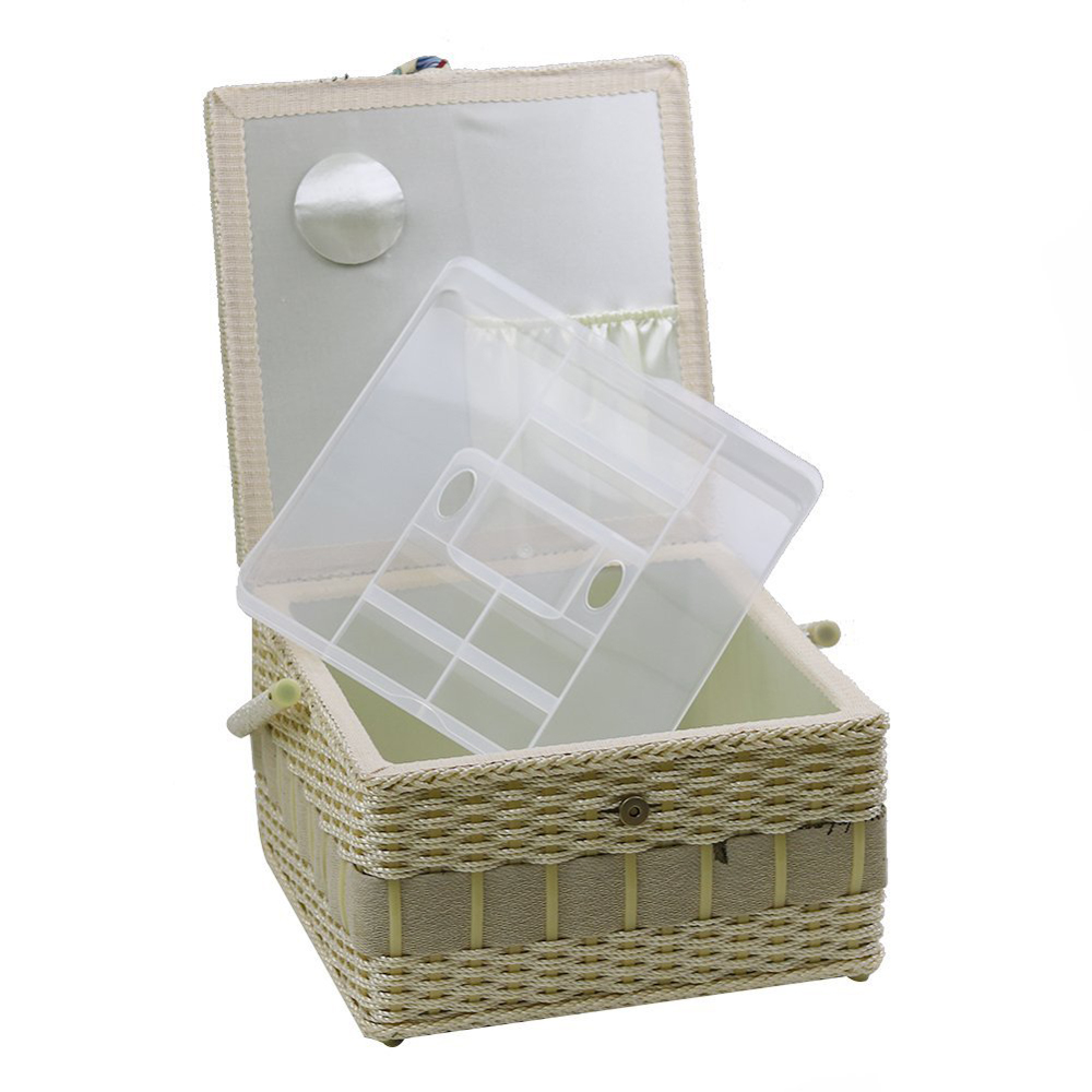 Du0026D 4 Designs Household Sewing Storage Basket Storage Box Container Organizer with Sewing Accessories Christmas Gift for Mother-in Storage Baskets from Home ...  sc 1 st  AliExpress.com & Du0026D 4 Designs Household Sewing Storage Basket Storage Box Container ...