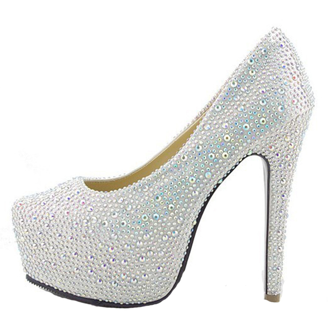 2013 TOP QUALITY 11/14/16CM SEXY FASHION HIGH HEELS DIAMOND ...