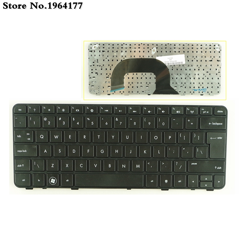 NEW UI Keyboard For HP Pavilion Dm1-3000 Dm1-3100 Dm1-3200 DM1-4000 Mini230-3000 DM1Z-3000 DM1Z-3200 Dm1-3001au English