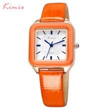 Women font b Watches b font 2016 Brand KIMIO Fashion Quartz font b watch b font