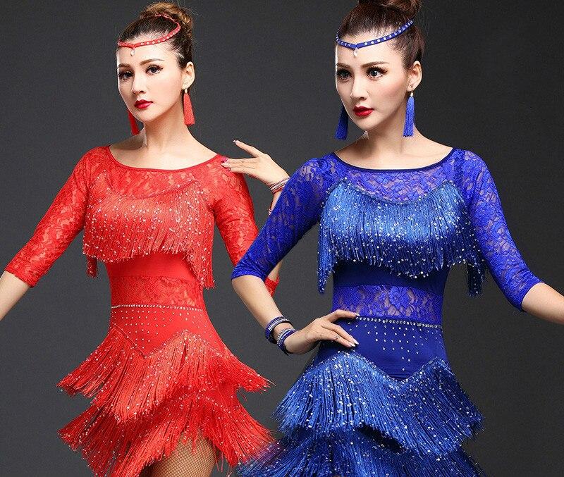 נשים לטינית דאנס השמלה פרינג 'נשים נשף - מוצרים חדשים