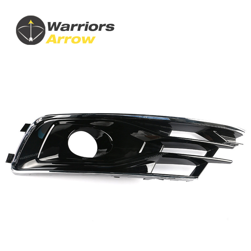 4G0807647A For Audi A6 S6 Avant Quattro 2015 2016 Left Side Front Bumper Lower Grill image