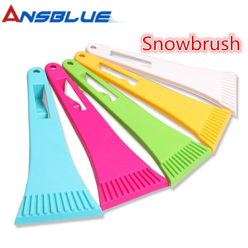 High Quality Car vehicle Snow Ice Scraper Winter SnoBroom Snowbrush Shovel Removal Brush Car Windows Clean Tools Accessories