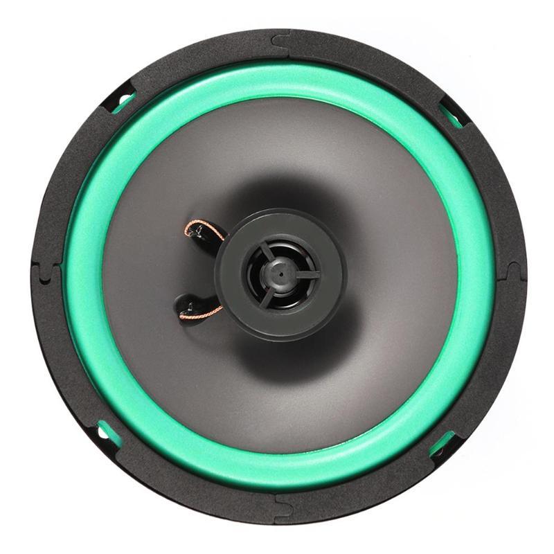 Автомобильный коаксиальный динамик, 6,5 дюйма, 80 Вт, 2 канала, для автомобильной аудиосистемы, громкий, резонансный, чистый звук, качество звука Коаксиальные колонки      АлиЭкспресс