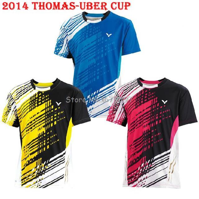 2762d7092c0 R$ 152.83 |Coréia do sul Thomas Uber Cup corrida VICTOR uniforme da equipe  de Polo camisas de tênis de mesa em Camisetas de Roupas masculinas no ...