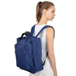 Image 3 - حقيبة سفر بسعة كبيرة للأمتعة منظم التعبئة للرجال والنساء حقيبة يد محمولة مضادة للماء حقيبة أمتعة