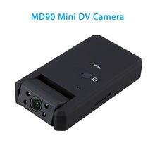 MD90 мини DV камера Черный 1080 P Инфракрасный Ночное видение мини видеокамера с 180 градусов вращение Функция обнаружения движения