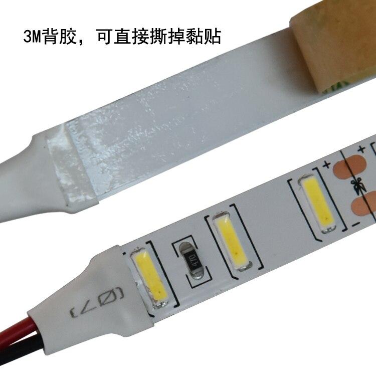 7020 DC12V étanche/non-imperméable à l'eau 90 led/m 5 M/roll blanc Froid flexible LED bande livraison gratuite