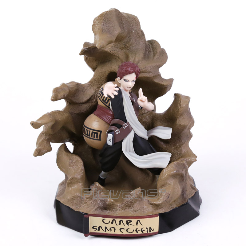 NARUTO SHONEN JUMP Gaara Sand Coffin PVC Figure Collectible Model Toy 18cm футболка toy machine jump ramp navy