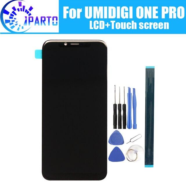 5.9 بوصة UMIDIGI واحد برو شاشة الكريستال السائل + شاشة تعمل باللمس 100% الأصلي اختبار LCD محول الأرقام لوحة زجاج استبدال ل UMIDIGI واحد برو