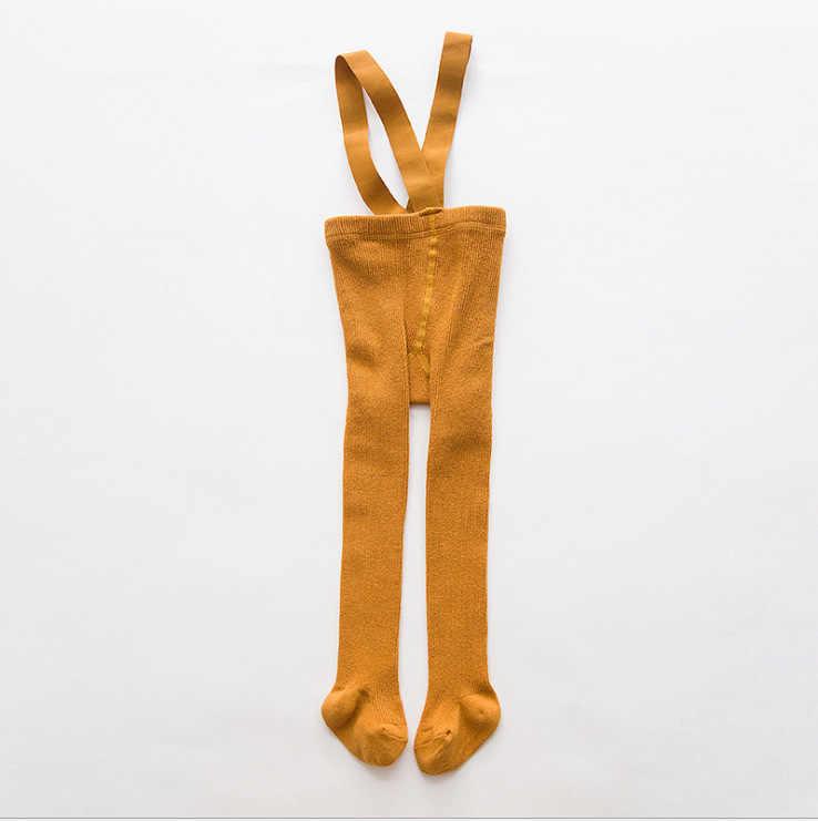 0-24 m pantyhose do bebê collants roupas de algodão recém-nascido calças do bebê cintura alta cinto cruz leggings do bebê meninos meninas calças