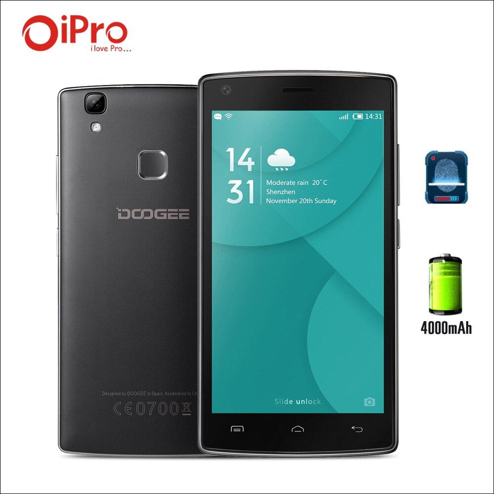 DOOGEE X5 MAX X5 MAX Pro 4000mAh Fingerprint Android 6 0 font b Smartphone b font