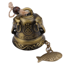 Blessing Luck Bell Feng Shui Metal Wind Chime Fortune Home Car Hanging Ornaments Decor Gift Crafts