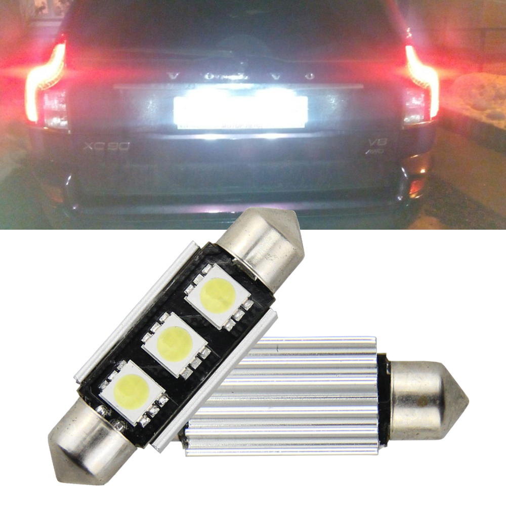 best top led 1 w canbus ideas and get free shipping 79i2bcn12 pcs canbus led license plate light for volvo s40 v50 v70 c30 c70 70 s80 xc90 s60