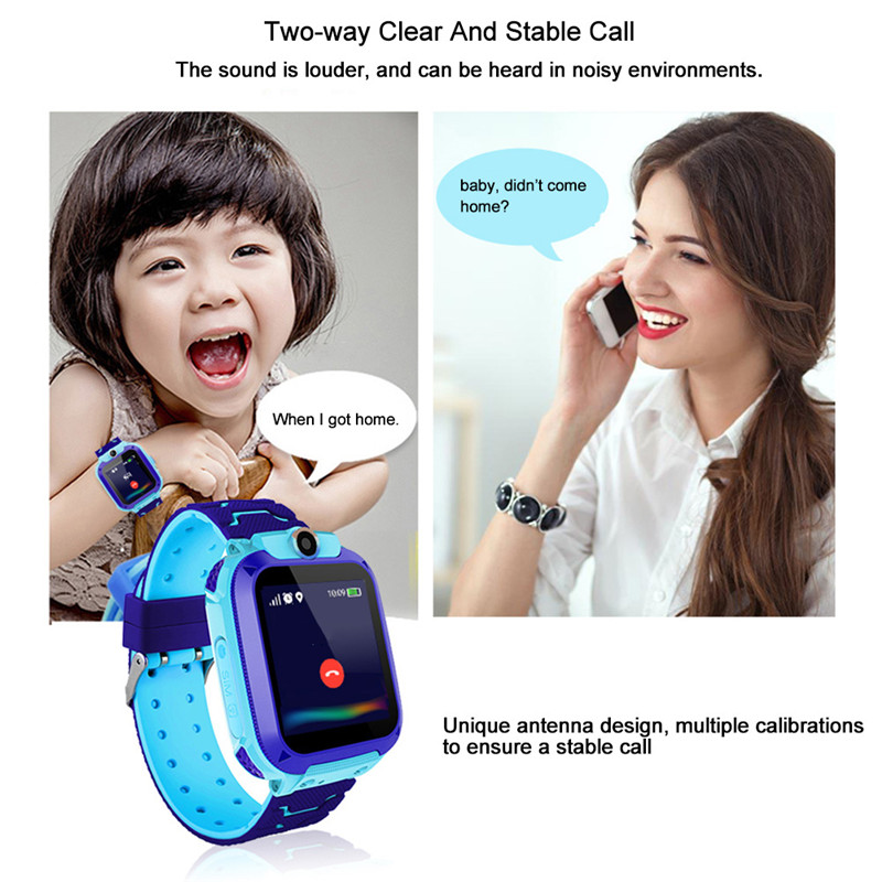 Image 5 - Smart Watch Q12 Smart Phone Watch for Children Student Waterproof Student Smart Watch Dial Call Voice Chat Smartwatch Sports-in Smart Watches from Consumer Electronics