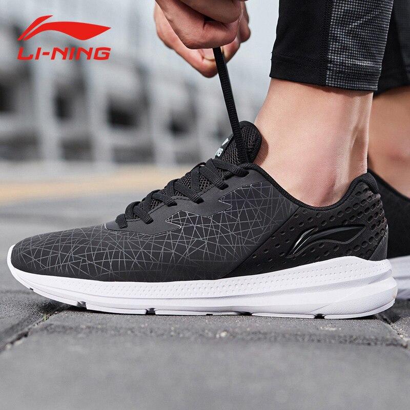 Li-ning hommes réacteur V2 chaussures de course coussin respirant Durable Anti-glissant doublure chaussures de Sport baskets ARHN239 XYP811