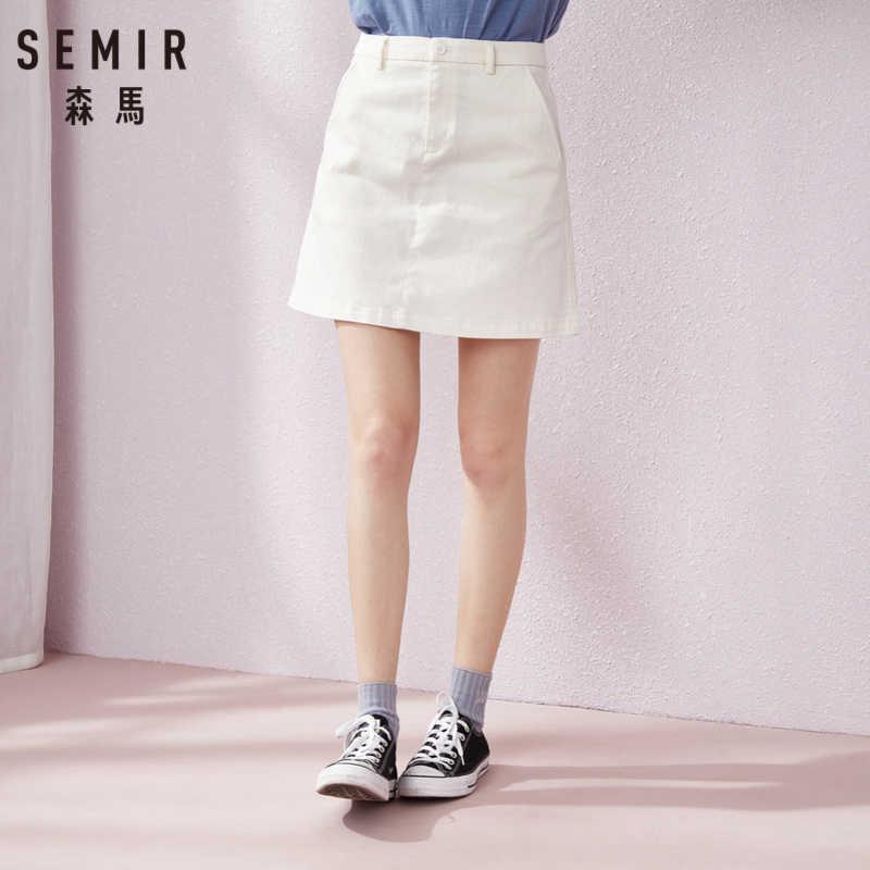 SEMIR krótka spódniczka kobiet spódnica 2019 lato nowy cienką spódnica student koreańska wersja tide moda spódnice dla pani