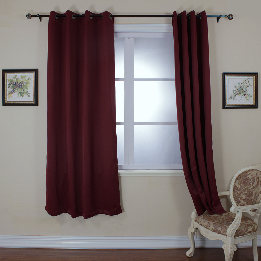 Maroon Curtains For Living Room Online Shop One Piece Ready Made Curtains For Living Room Modern