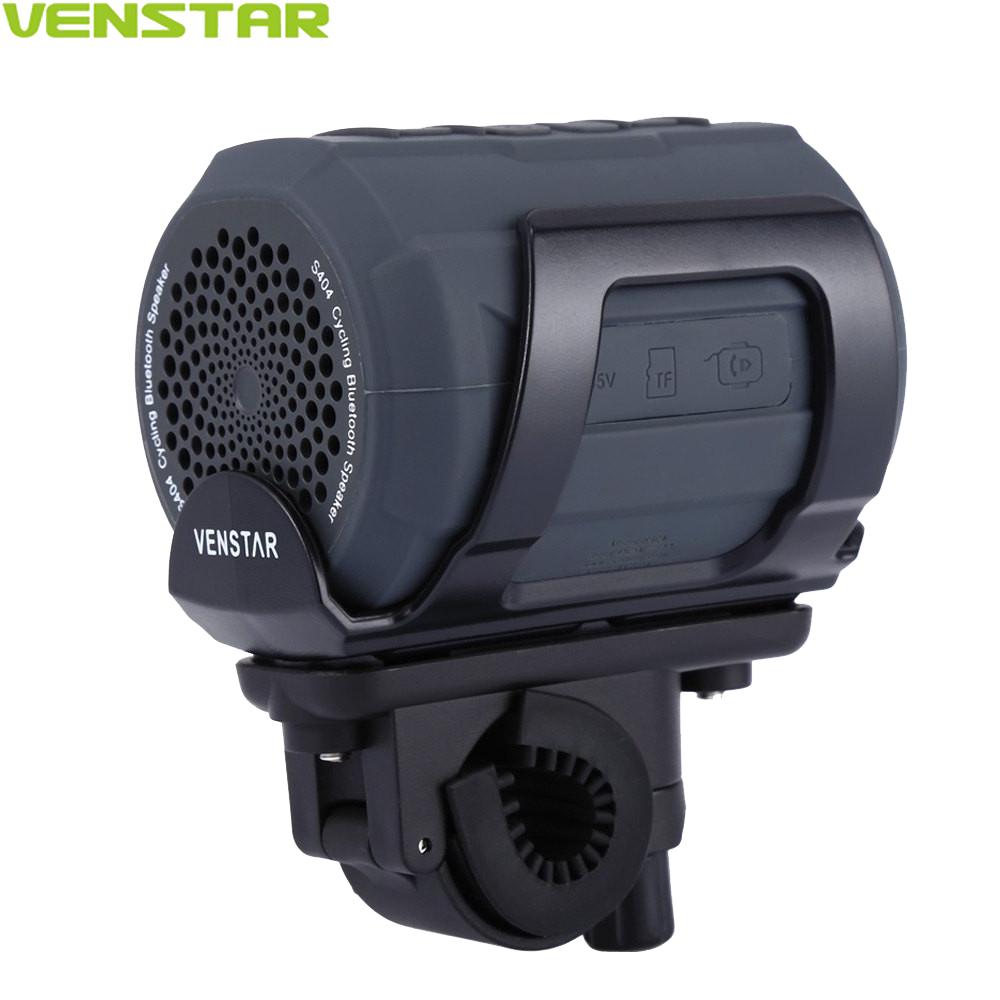 Prix pour VENSTAR S404 Portable Bluetooth Haut-Parleur Colonne Subwoofer FM Radio Haut-Parleur pour Moto Vélo Vélo En Plein Air Vélo Sport