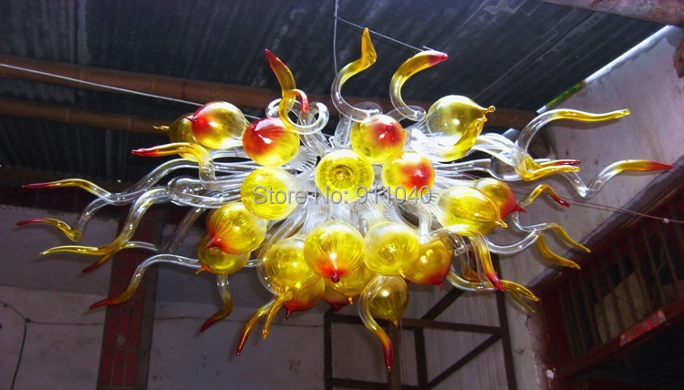 New Arrival High Ceiling Cheap Crystal Flush Mount Light