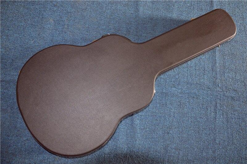 Étui de magasin personnalisé pour guitare électrique Firehawk étui de guitare boîte noire de 40414243 pouces seulement. Pas de guitare