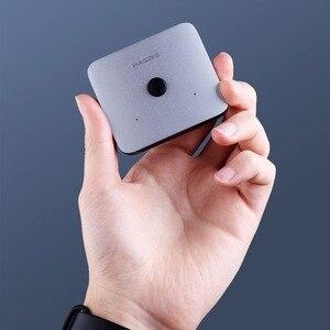 Image 4 - Originale Youpin HAGIBIS HDMI Multi funzione di Convertitore Adattatore Dual Way HDMI Splitter Switcher 4K 1080P HDTV per calcolo TV box